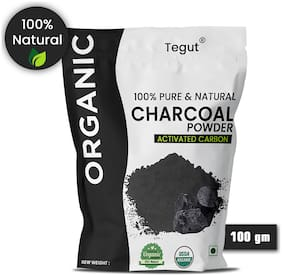 Tegut Premium Quality Activated Charcoal Powder 100g (Pack of 1)