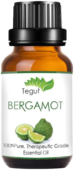 Tegut Pure And Natural Bergamot Essential Oil (10 ml) (Pack Of 1)