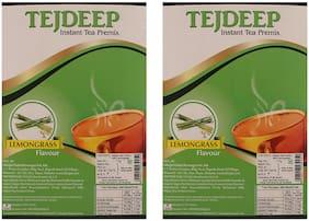 Tejdeep Lemongrass Flavour Instant Tea Premix 1 kg x 2   Premix Tea for Vending Machine  Ready to drink tea