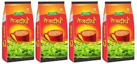 Tejdeep Strong CTC Tea Combo of 4 (250gm each) for Indian Strong Beverage Drinkers (Brand Outlet)