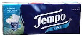 Tempo Protect Handkerchief - 4 Ply 10 packs