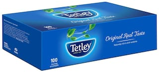 Tetley Black Tea (100 Tea Bags ) Pack of 2