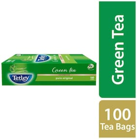Tetley Green Tea - Regular 100 Teabags