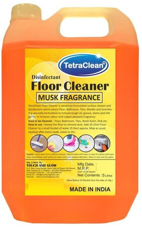 Tetra Clean Musk Disinfectant Floor Cleaner Musk (5 L)