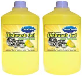 Tetra Clean 2 Dish Cleaning Gel (Lemon)(1 L Each) Pack of 2
