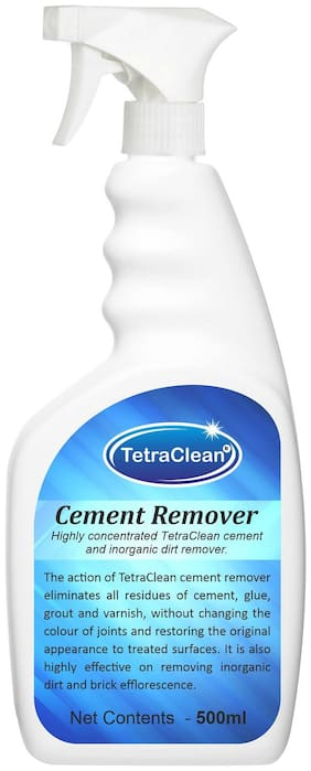 TetraClean Highly Concentrated Cement Remover and Inorganic Dirt Remover / Tile Cleaner ( 500 ML )