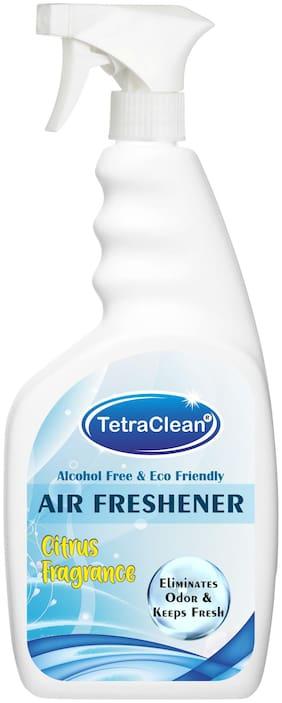 Tetraclean Multipurpose Air Freshener With Refreshening Fragrance of Citrus (500ml)