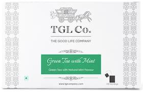 TGL Co. Mint Green Tea Bags ( 100 Tea Bags Pack Of 1)