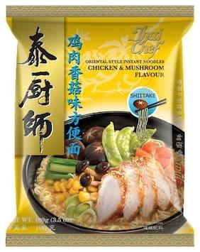 Thai Chef Instant Noodles - Chicken & Mushroom Flavour  Oriental Style 100 g
