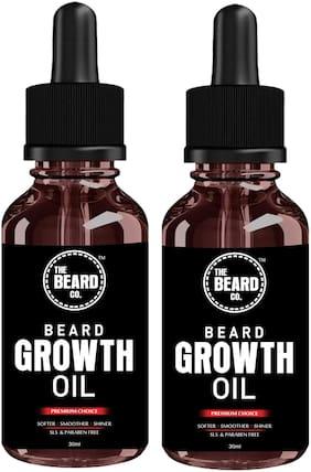 The Beard Company Beard Growth Oil 30ml (Pack of 2)