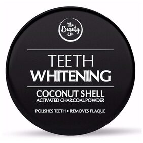The Beauty Co Coconut Shell Activated Charcoal Instant Teeth Whitening Powder 50g