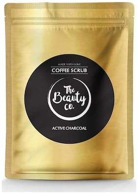 The Beauty Co Activated Charcoal Coffee Scrub For Face & Body 100 g