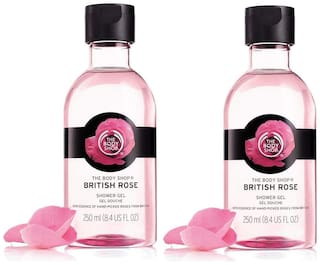 The Body Shop British Rose Gel Combo 250ml (Pack of 2)