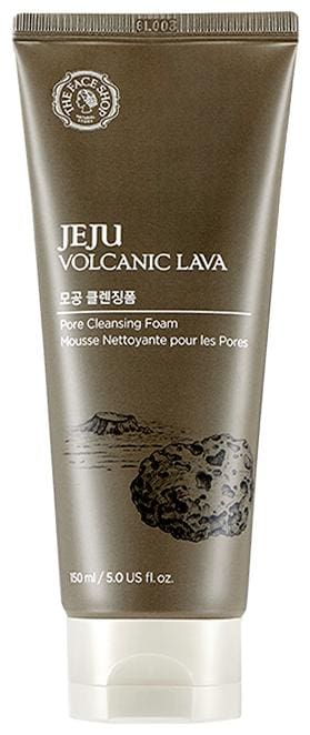 The Face Shop Jeju Volcanic Lava Cleansing Foam (150ml) Pack of 1