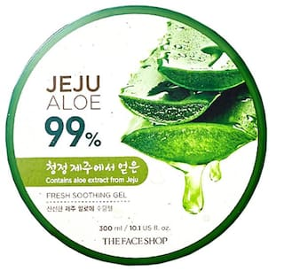 The Face Shop Jeju Aloe Fresh Soothing Gel (300ml) Pack of 1