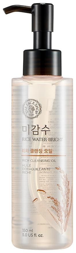 The Face Shop Rice Water Bright Rich Cleansing Oil (150ml) Pack of 1