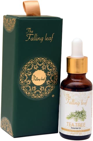 The Falling Leaf Tea Tree Pure Organic Essential Oil (30 ml)