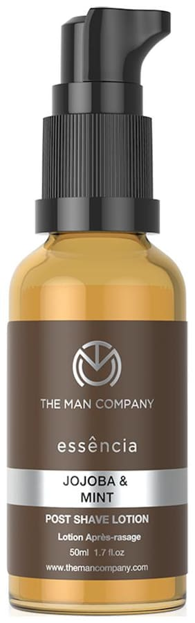 The Man Company Post Shave Lotion Jojoba & Mint 50ml