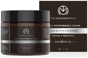 The Man Company Daily Moisturising Cream with Shea Butter and Vitamin E 50g
