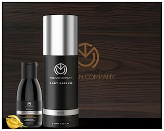The Man Company The Dark Knight Gift set for Men (Noir Body Perfume 120 ml  Charcoal Face Wash 100ml)