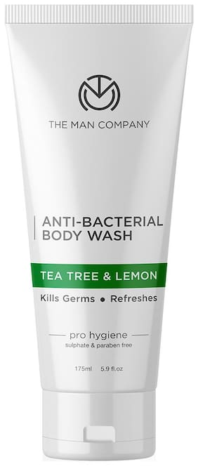 The Man Company Anti Bacterial Tea Tree and Lemon Body Wash 175 ml