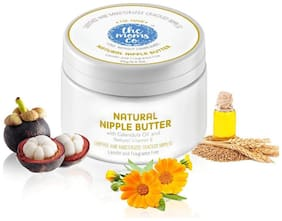 The Moms Co. Natural Nipple Butter Cream for Breastfeeding Moms (25g/0.9oz) Pack of 1