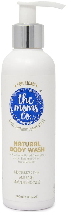 The Moms Co. Natural Body Wash With Mono Cartons 200 ml