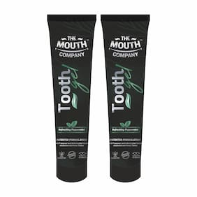 The Mouth Company Toothgel Refreshing Peppermint 20g - Pack of 2