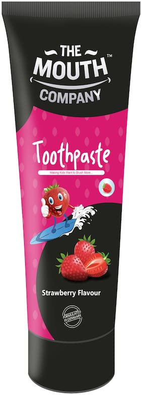 The Mouth Company Toothpaste Strawberry 50g