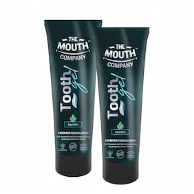 The Mouth Company Toothgel Cool Mint 75g - Pack of 2