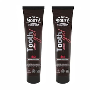 The Mouth Company Toothgel Meswak & Pomegranate 20g - Pack of 2