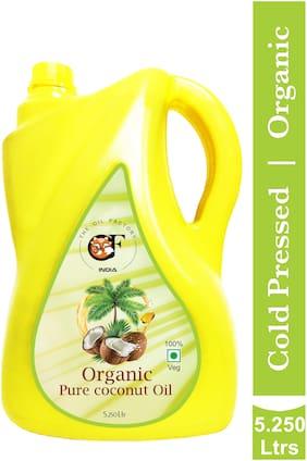 The Oil Factory Organic Virgin Coconut Oil- 5.25 L