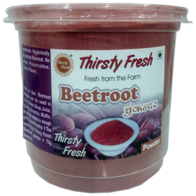 Thirsty Fresh Beetroot Powder   Dehydrated Ready To Use For Kitchen & Health (500g)