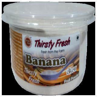 Thirsty Fresh Banana Powder   Ready To Use For Cake Ice Cream Shake (500g)