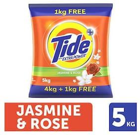 Tide Detergent Washing Powder - Jasmine & Rose  Extra Power  Tide+ 5 kg
