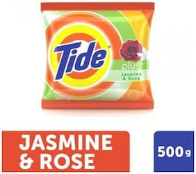 Tide Detergent Powder Jasmine Rose (500 gm)