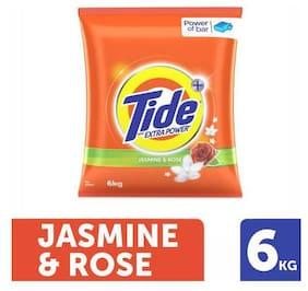 Tide Plus Detergent Washing Powder - Extra Power Jasmine & Rose 6 kg