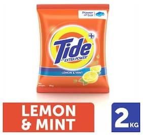 Tide Plus Detergent Washing Powder - Extra Power Lemon & Mint 2 kg