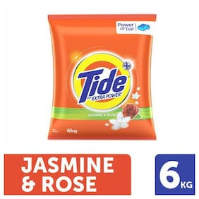 Tide Plus Detergent Washing Powder - Extra Power Jasmine & Rose 6 kg