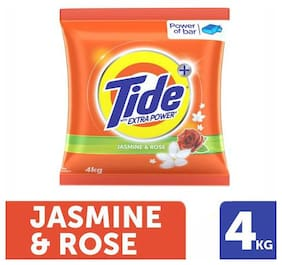 Tide Plus Detergent Washing Powder - Extra Power Jasmine & Rose 4 kg