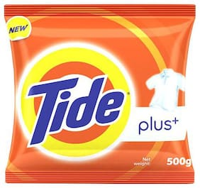 Tide Plus Detergent Washing Powder - Extra Power Lemon & Mint 500 g