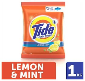 Tide Plus Detergent Washing Powder - Extra Power Lemon & Mint 1 kg