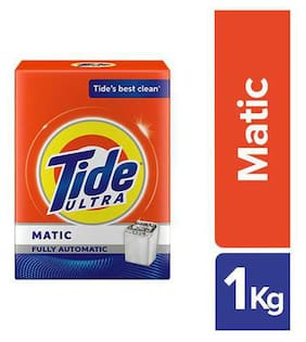 Tide Ultra Matic Detergent Washing Powder 1 kg