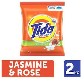 Tide Plus Detergent Washing Powder - Extra Power Jasmine & Rose 2 kg