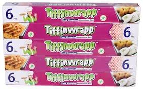 Tiffinwrapp Aluminium Foil 3.5 m Pack of 5