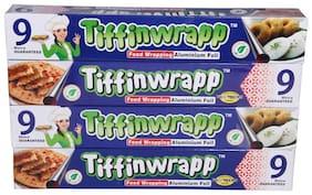 Tiffinwrapp Aluminium Foil 9 m Pack of 4