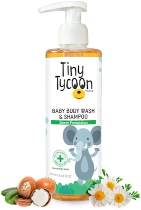 Tiny Tycoon Paris Baby Body Wash & Shampoo Germ Protection 250 ml