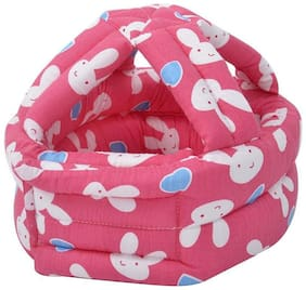 Tinytots Baby Safety Helmet - Cushion Bumper Headguard - Red