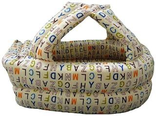 Tinytots Baby Safety Helmet - Cushion Bumper Headguard - Brown