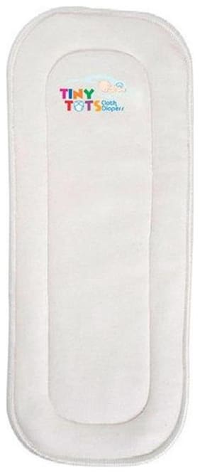Tinytots Bamboo Inserts for Cloth Diaper - 4 Layered - Pack of 1